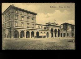 B9216 BOLOGNA - ARENA DEL SOLE ANIMATA CON CARROZZA FP VG 1917 - Bologna