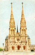 BASILICA NUESTRA SEÑORA DE LUJAN CHURCH CIRCA 1920 POSTAL CARD COLOR -LILHU - Kerken En Kloosters