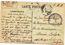 CP De Gravelines Passerelle (12.01.1917) Armée Belge Ambulant Dunkerque à Calais SMB Campagne Militaire - Guerre 14-18