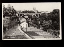 B9226 LUXEMBOURG - PONT ADOLPHE . EDIT. NIC. SIBENALER - Lussemburgo - Città