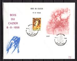1986   Belgique, FDC, Catastrophe Minière Du « Bois Du Cazier », 4 X  BF 57,  Cote 12 €, - Métiers