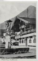 AK 0094  Ruhpolding - Dorfbrunnen / Verlag Reichel Um 1930-50 - Ruhpolding