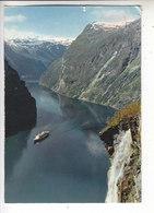 Sp- NORVEGE - NORGE - NORWAY - Gelranger - Fjord - Bateau - Timbre - Cachet - 1973 - Norwegen