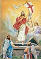 JESUCRISTO RESUCITADO JESUS CHRIST RISEN CIRCA 1920 POSTAL CARD COLOR -LILHU - Jezus