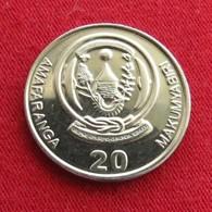 Rwanda 20 Francs 2009  Ruanda - Rwanda