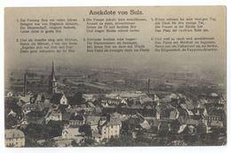 Sulz O.E. Soultz-Haut-Rhin Anekdote Von Sulz Elsass Haut-Rhin Grand Est Thann-Guebwiller - Soultz
