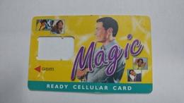 India-magic-ready Cellular Card-(1)-g.s.m-used Card+1 Card Prepiad Free - India