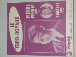 Le Tord Boyaux - Pierre Perret - Partituren