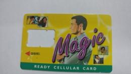 India-magic-ready Cellular Card-(1a)-g.s.m-used Card+1 Card Prepiad Free - India