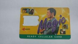 India-magic-ready Cellular Card-(1b)-g.s.m-used Card+1 Card Prepiad Free - India