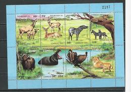 CONGO Scott 1015a Yvert BF58 (bloc) ** Cote 26,00 $ 1992 - Congo - Brazzaville