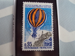 """1960...-POSTE AERIENNE, Oblitéré, Timbre N° 45     """" Ballons Montes       """"cote   0.50        Net  0.25 - Poste Aérienne"""