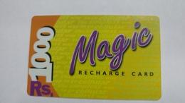 India-magic-ready Recharge Card-(3)-(rs.1000)-used Card+1 Card Prepiad Free - India
