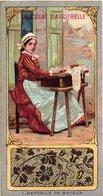 18 Chromo Litho Trade Cards C1900 PUB CHOColat  D'Aiguebelle DENTELLE ( Kant, Spitze, Lace ) 5,6cm  X 10,5cm,  Very Good - Aiguebelle