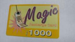 India-magic-ready Recharge Card-(4)-(rs1000)-used Card+1 Card Prepiad Free - India