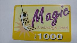 India-magic-ready Recharge Card-(4a)-(rs1000)-used Card+1 Card Prepiad Free - India