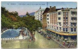 Annecy - Pont Albert Lebrun Et Le Canal Du Vassé - Annecy