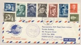 Nederland - 1951 - Kindserie Op First Flight Van Amsterdam Naar Sydney / Australia - Periode 1949-1980 (Juliana)