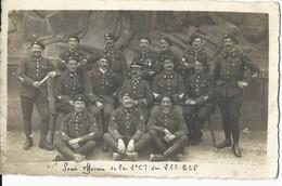 CARTE PHOTO MILITAIRE - GROUPE - 1919 - 26e BATAILLON CHASSEURS A PIED - 2e Cie - METZ -  ECRITE - TBE - Personnages
