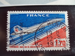"""1960...-POSTE AERIENNE, Oblit, Timbre N° 49  """" Concorde Paris Rio """"  Cote 0.65   Net 0.20 -(photo  1 ) - Poste Aérienne"""