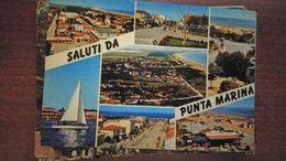 Cartolina:Saluti Da Punta Marina Viaggiata (a31) - Non Classificati