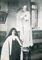 INMACULADO CORAZON DE MARIA IMMACULATE HEART OF MARIA FATIMA CIRCA 1920 POSTAL CARD COLOR -LILHU - Schilderijen, Gebrandschilderd Glas En Beeldjes