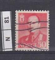 NORVEGIA  1959Re Olav V 50 O Usato - Norvegia