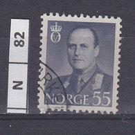 NORVEGIA  1959Re Olav V 55 O Usato - Norvegia