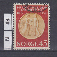 NORVEGIA  1959R.S. Welfare 45 Usato - Norvegia