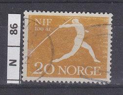 NORVEGIA  1961Unione Atletica 20 Usato - Norvegia