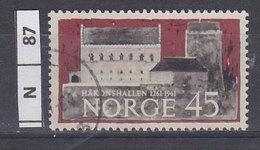 NORVEGIA  1961Haakohalle 45 Usato - Norvegia