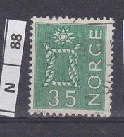 NORVEGIA  1962Nodo 35 Usato - Norvegia