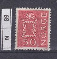 NORVEGIA  1962Nodo 50 Usato - Norvegia