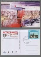 C3249 SLOVENIA TIMBRO 2011 INCONTRIAMOCI A PORDENONE CARTOLINA COMMEMORATIVA (m) - Slovenia