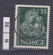 NORVEGIA  1963Campagna Contro La Fame 25 Usato - Norvegia
