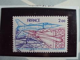 """1960...-POSTE AERIENNE, Oblit, Timbre N° 54     """" Mirage 2000 """"cote  0.65 Net  0.20 - Poste Aérienne"""