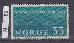 NORVEGIA  1963Industria Tessile 35 Usato - Norvegia
