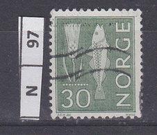 NORVEGIA  1963Pitture  Rupestri 30 Usato - Norvegia