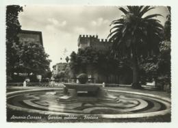 APUANIA- CARRARA - GIARDINI PUBBLICI - FONTSNS  VIAGGIATA FG - Carrara