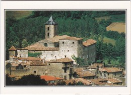 F09-026 VILLAGE FORTIFIE DE CAMON - CARTE DOUBLE - Autres Communes