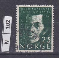 NORVEGIA   1964Società Lavoratori Di Oslo 25 Usato - Norvegia