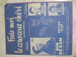 Fais Moi Le Couscous Cheri - Bob Azzam - Partitions Musicales Anciennes