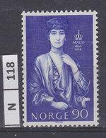 NORVEGIA   1969Regina Maud 90 Nuovo - Norvegia