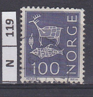 NORVEGIA   1970Pitture Rupestri 100 Usato - Norvegia