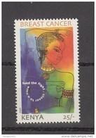 2007 Kenya Breast Cancer Awareness Complete Set Of 1 MNH - Kenya (1963-...)