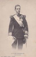 SM DON ALFONSO XIII REY DE ESPAÑA. HAUSER Y MENET. CIRCA 1900s- BLEUP - Koninklijke Families