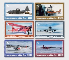 ROSS DEPENDENCY 2018 Aircraft Set Of 6v** - Unused Stamps