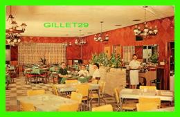 GLENNVILE, GA - RED STEER RESTAURANT - ANIMATED, DINNING ROOM - R. E. DREW - - United States