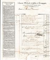 1823 - LIBRAIRIE MÉDICALE De GABON Et COMPAGNIE - Paris, Rue De L'Ecole De Médecine - Documents Historiques