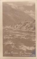 SAN RAFAEL(MENDOZA, ARGENTINE), RIO SALADO. OPTICA LARDONE. CARD. CIRCA 1910s-RARE- BLEUP - Argentinië